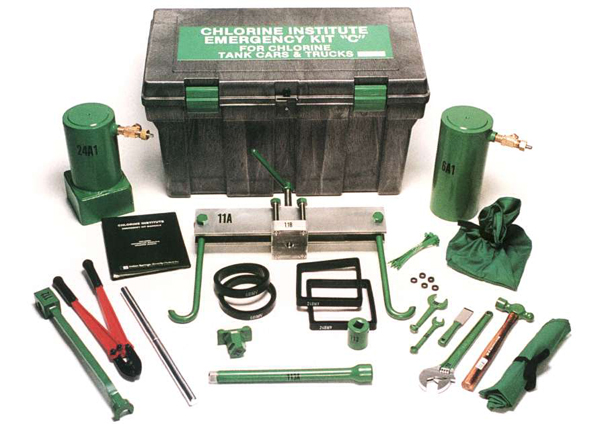 Water Stopper Kit : Emergency equipment the chlorine institute